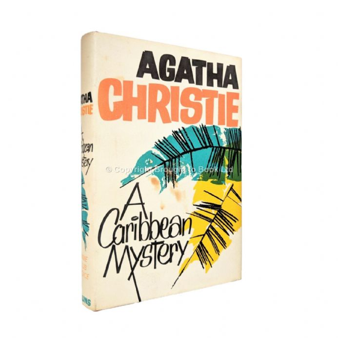 A Caribbean Mystery Agatha Christie First Edition The Crime Club by Collins 1964